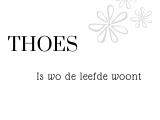 Kaart thoes | YLKA